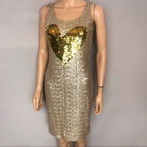 Agatha Ruiz De La Prada Sequin Cocktail Dress